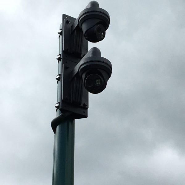 Camera en inbraak installatie