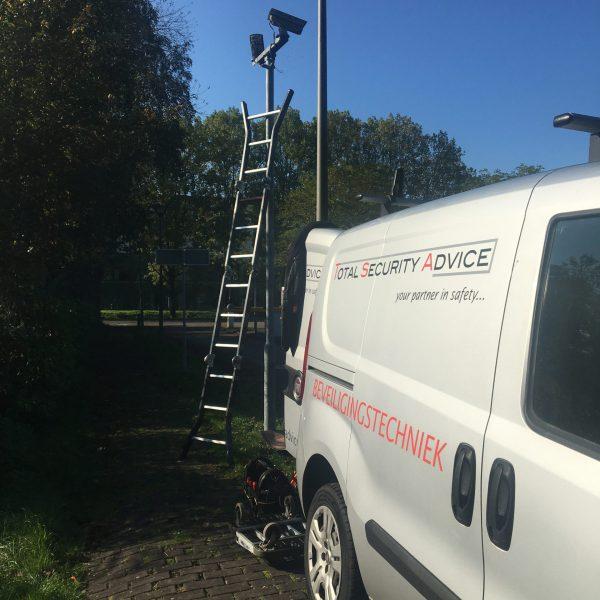 Project ombouw analoog camerasysteem naar nieuw IP camerasysteem